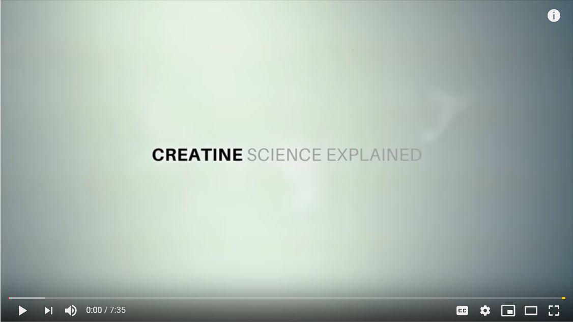 science of creatine