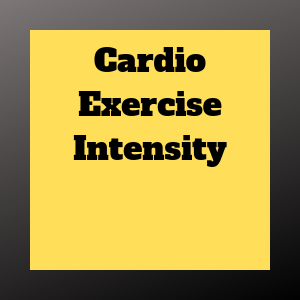the intensity of cardio exercise matters big time