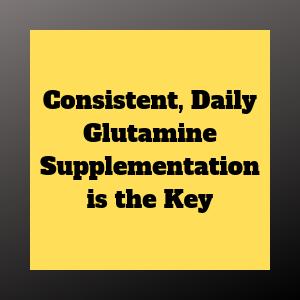 taking glutamine daily benefits