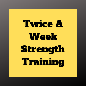 Twice-A-Week Weight Training For Adults to Improve Strength