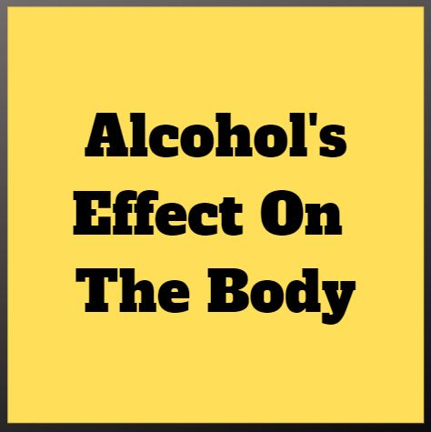 alcohol's effect on your weight loss and health